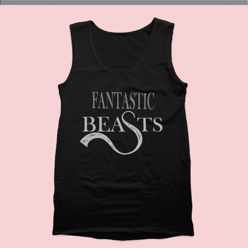 Fantastic Beasts Tank Top Mens Tank Top Womens