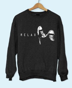 Relax with Sneakers Sweatshirt