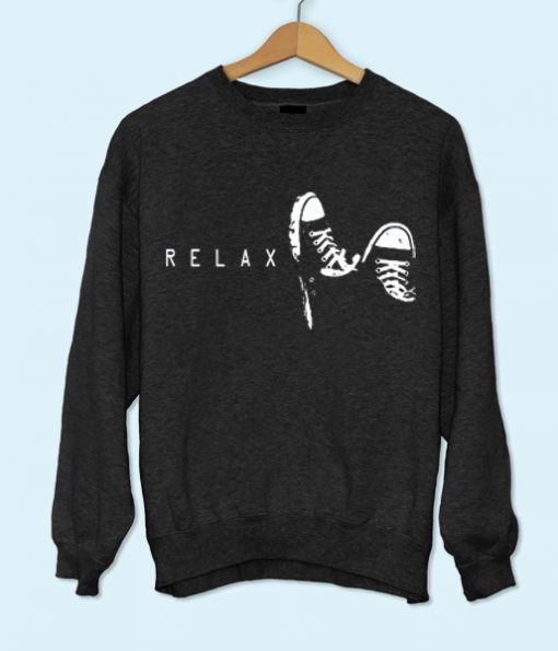 Relax with Sneakers Sweatshirt