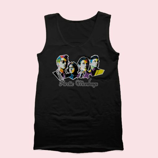 Arctic Monkeys Tank Top Mens Tank Top Womens