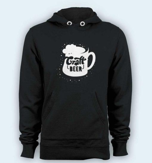 Hoodie pullover black-craft beer