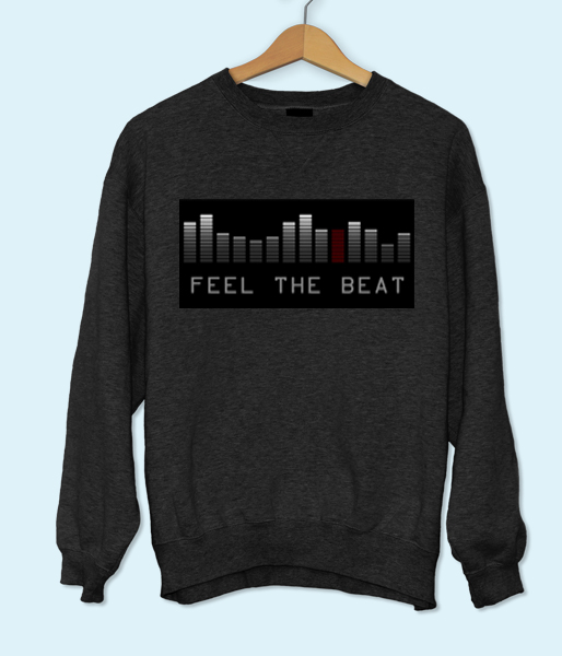 Feel The Beat Sweatshirt