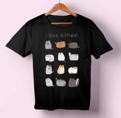 I Love Kitties T-shirt