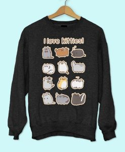 I Love Kitties Sweatshirt