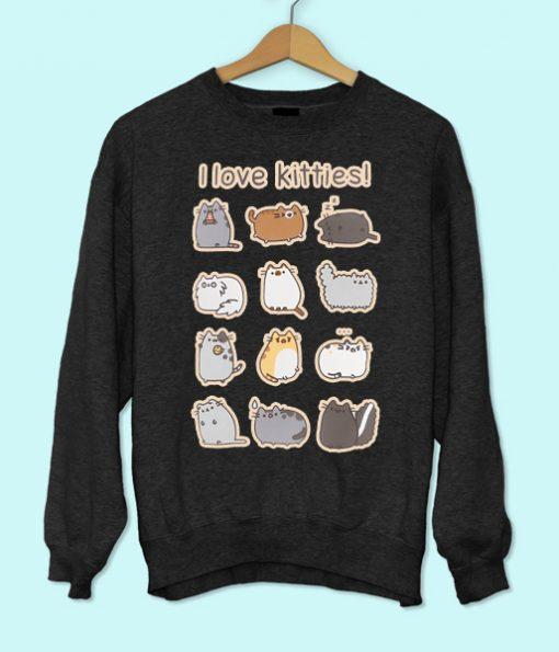 I Love Kitties Sweatshirt