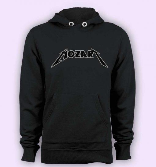 Hoodie pullover black-Mozart