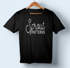 Sprout Patterns T-shirt