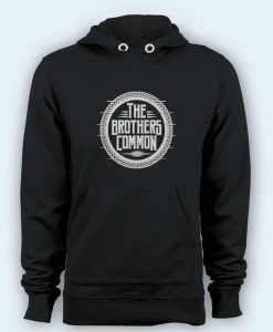 Hoodie pullover black-The Brothers Common