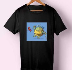 Turtles vs Spiderkid T-shirt