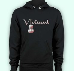 Hoodie pullover black-Violinist