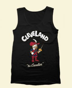 Cleveland Cavaliers Mascot Tank Top Mens Tank Top Womens