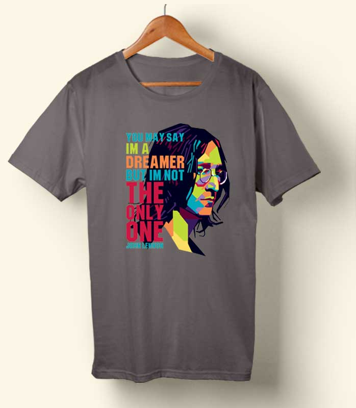 John Lennon quote T-shirt