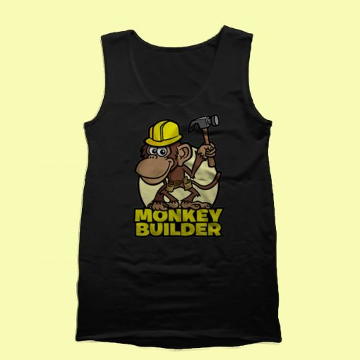 Monkey Builder Tank Top Mens Tank Top Womens