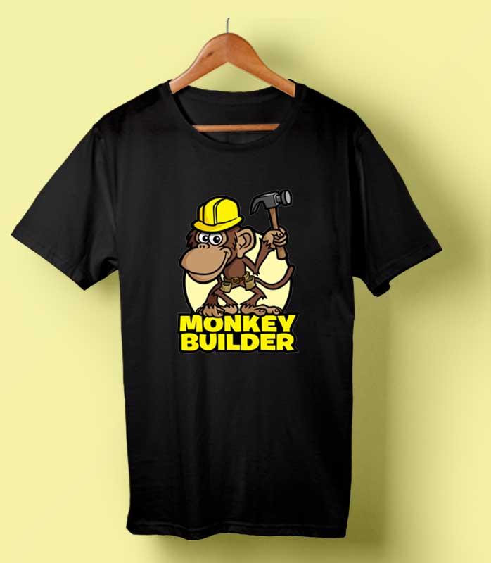 Monkey Builder T-shirt