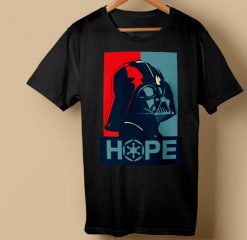Red or Blue Star wars T-shirt