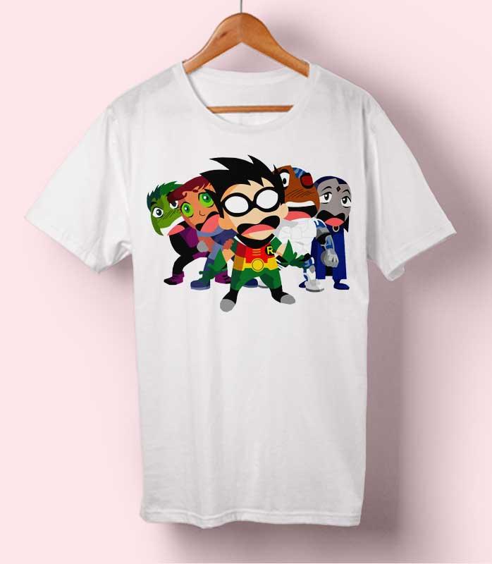 Robin n Friends T-shirt