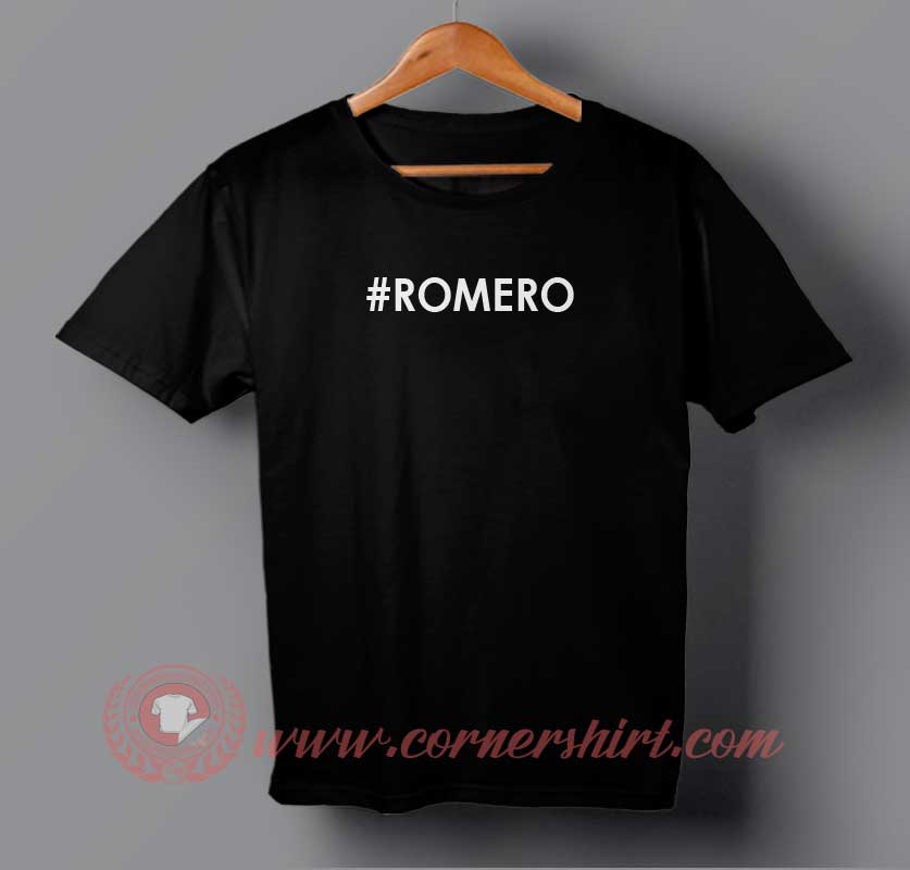 romero s shirt Translate romero see 2 authoritative translations of romero in english with example sentences, phrases and audio pronunciations.