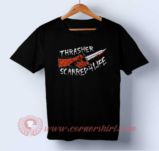 Thrasher Scarred For Life T-shirt