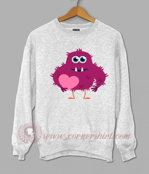 Monster Valentine Sweatshirt