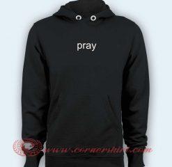 Hoodie pullover black - Pray