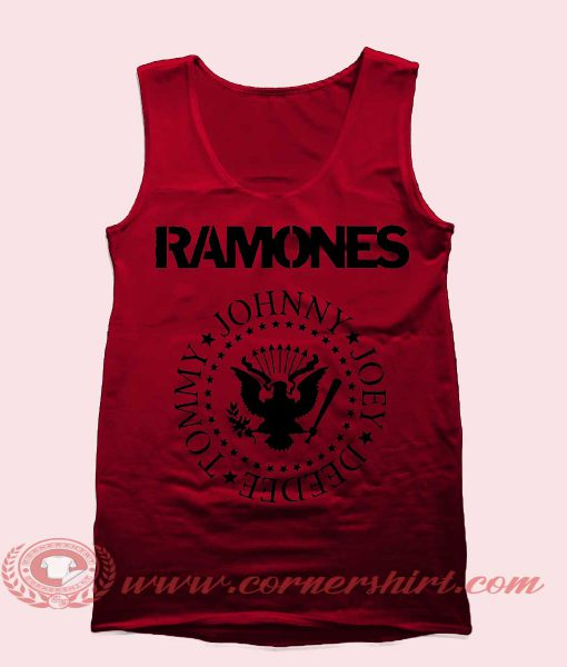 Ramones Tank Top Mens Tank Top Womens