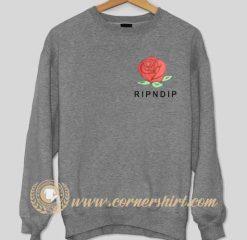Red Rose Ripndip Sweatshirt