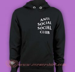 Hoodie pullover - Anti Social Social Club