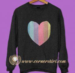 Love Colorful Sweatshirt