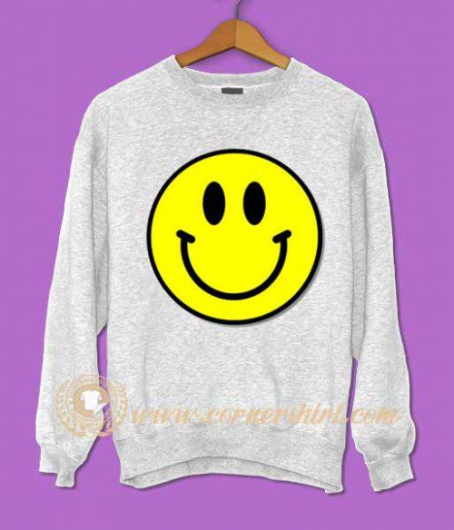 Smile Face Emoji Sweatshirt