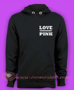 Hoodie pullover - Love Pink