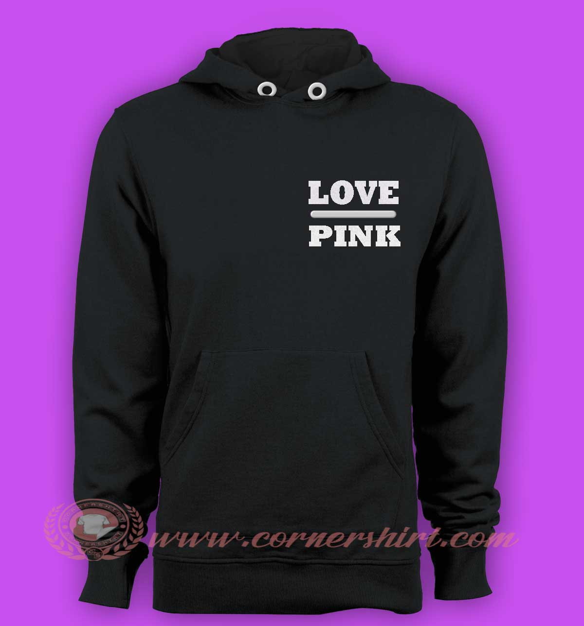Love pink hoodies