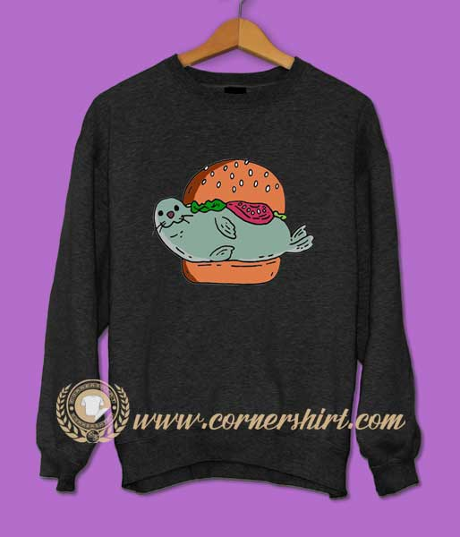 Seal Burger Sweatshirt
