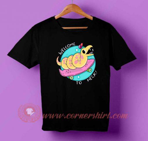 Cute Skate Snake T-shirt