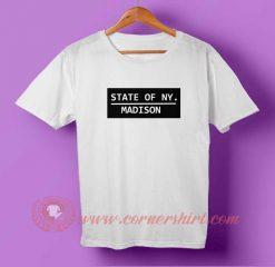 State Of NY. Madison T-shirt
