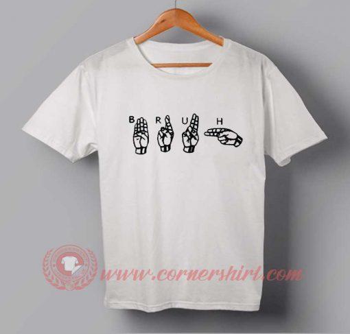 Bruh Symbol T-shirt