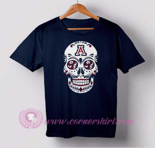 Eyes Flower Skull T-shirt