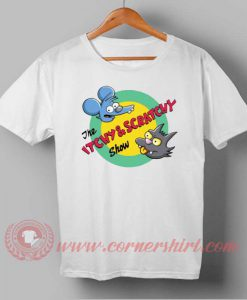 The Itchy and Scratchy & Poochie Show T-shirt