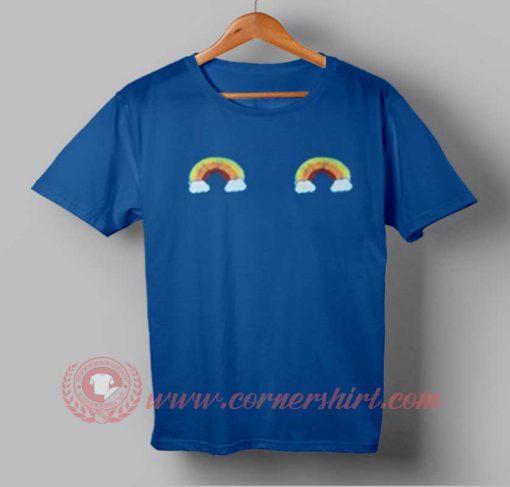 Rainbow Boob T-shirt