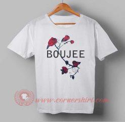 Red Rose Boujee T shirt