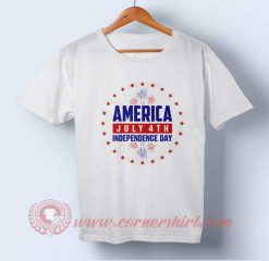 America 4th July Independence Day T shirt