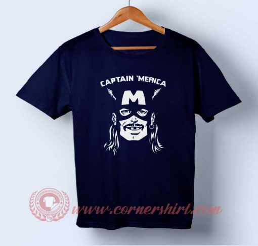 Buy T shirt Captain Merica Parody Independence Day T shirt