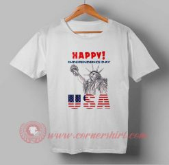 Buy T shirt Happy USA Independence Day T shirt For Unisex
