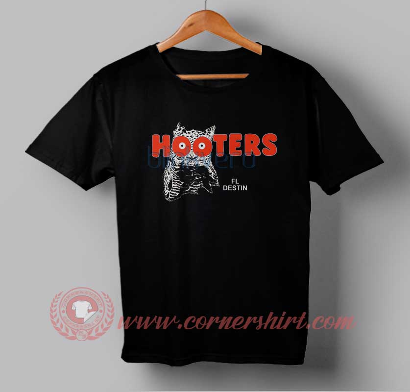 Buy best t shirt owl hooters t shirt for men and women for Best place to buy mens t shirts