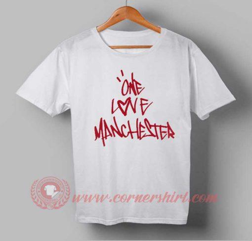 One Love Manchester 2 T shirt