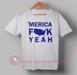 Buy T shirt Merica Fuck Yeah Independence Day T shirt