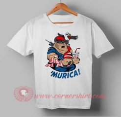 Murica Soldier Independence Day T shirt