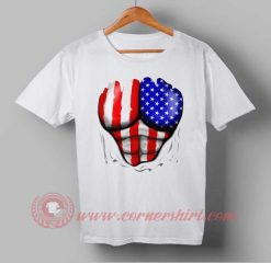 Six Pack American Flag Independence Day T shirt