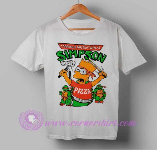 Teenage Mutant Ninja Simpson T-shirt