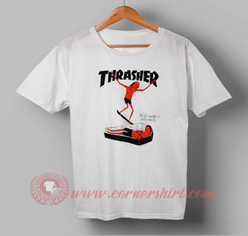 Buy T shirt Thrasher Coffin Logo Unisex For Men and Women T shirt