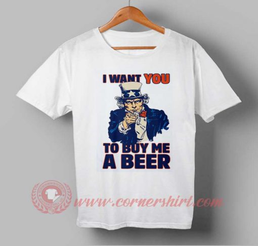 Beer Party Independence Day T shirt
